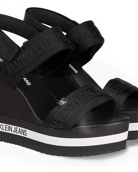 Čierne topánky Calvin Klein