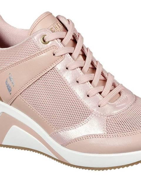 Krémové tenisky Skechers