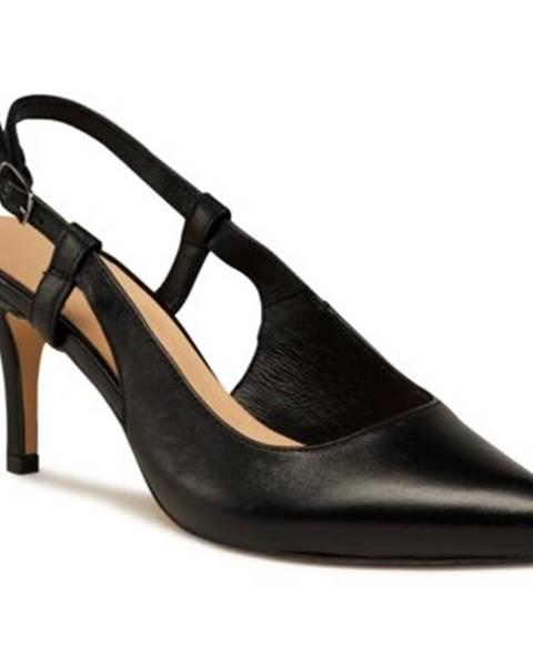 Čierne sandále Lasocki