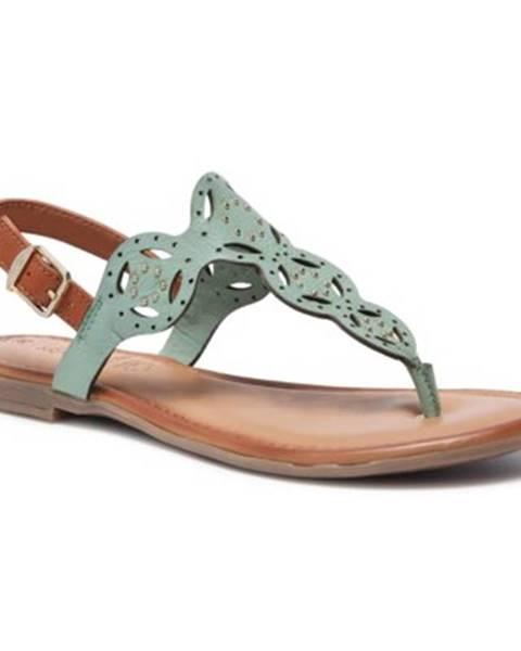 Zelené sandále s.Oliver RED LABEL