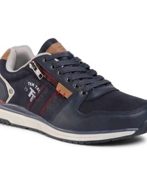 Tmavomodré topánky Tom Tailor