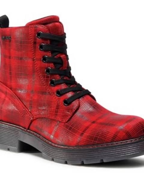Červené topánky Tom Tailor
