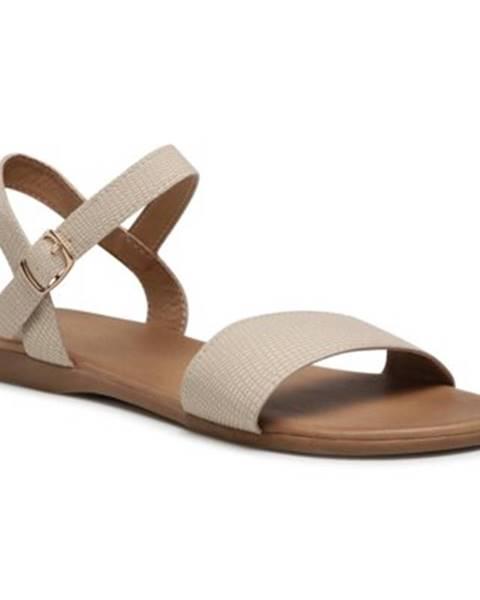 Béžové sandále Bassano