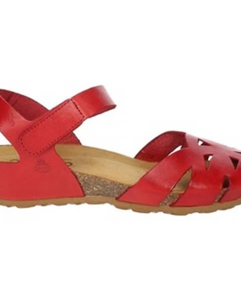 Červené sandále Yokono