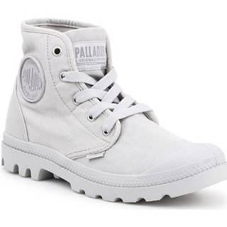 Členkové tenisky Palladium  US PAMPA HI F Vapor 92352-074-M