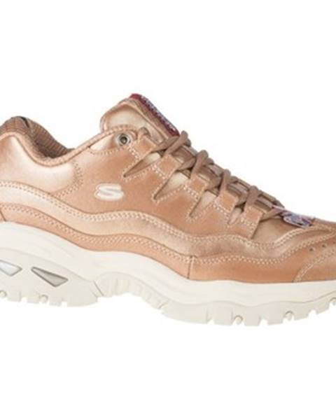 Zlaté tenisky Skechers