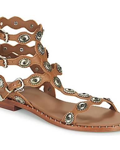 Hnedé sandále Ash