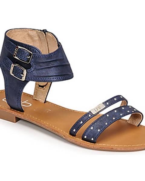Modré sandále Les Petites Bombes