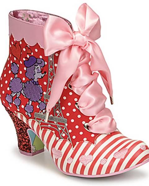 Červené topánky Irregular Choice