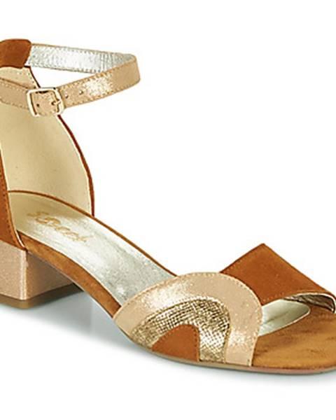 Hnedé sandále Sweet
