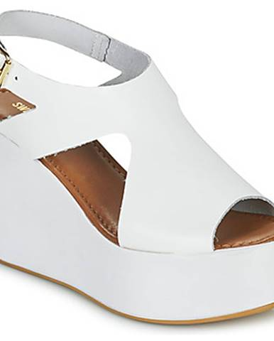 Biele sandále Sweet Lemon