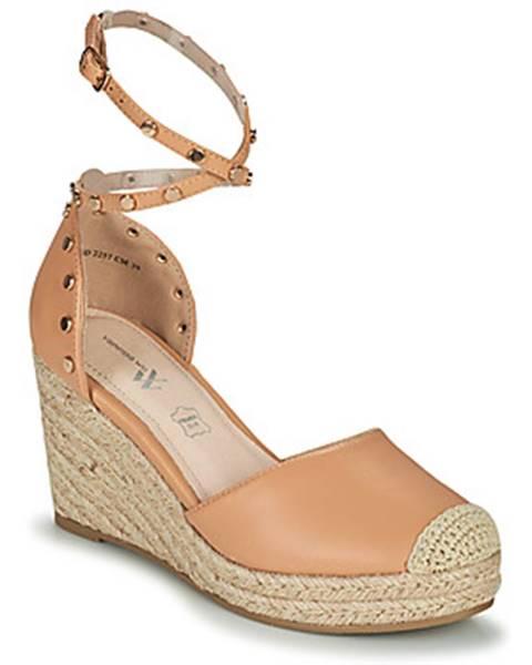 Hnedé sandále Vanessa Wu