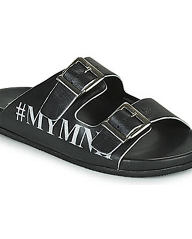 Čierne sandále Melvin   Hamilton