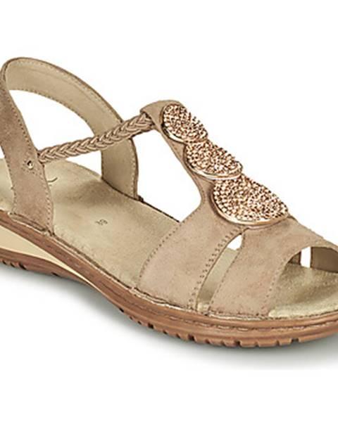 Béžové sandále Ara