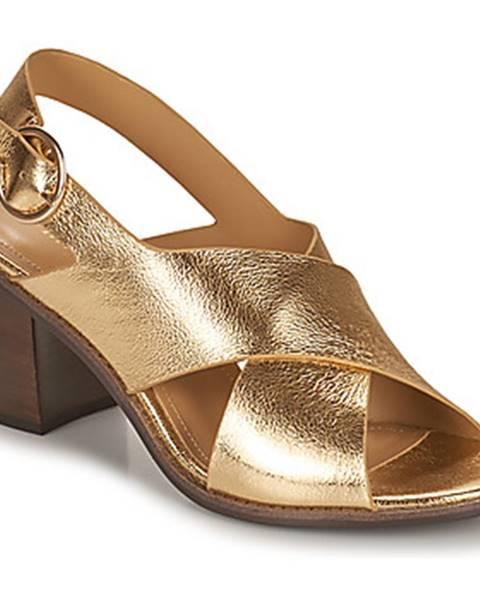 Zlaté sandále Minelli