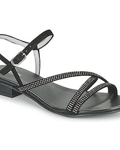 Čierne sandále NeroGiardini