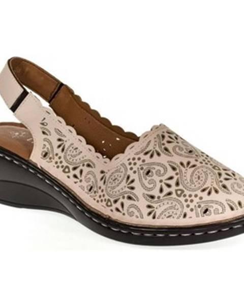 Ružové sandále Let Get