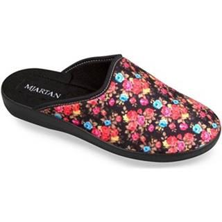 Papuče Mjartan  Dámske kvietkované papuče  FLOWER