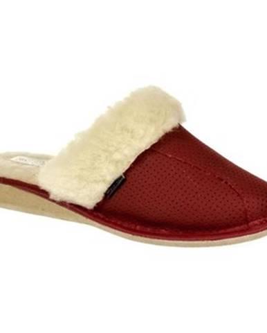 Červené papuče Just Mazzoni