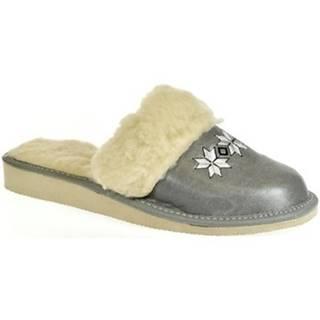 Papuče John-C  Dámske sivé papuče CHRISTI