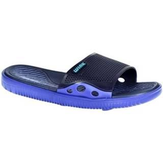 športové šľapky Wink  Pánske modré šľapky  LARSON