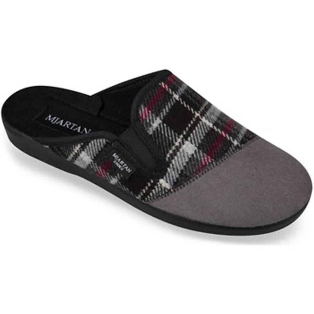 Mjartan Papuče Mjartan  Pánske sivé papuče  PALO