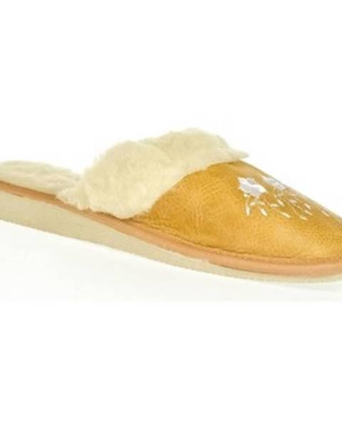 Žlté papuče John-C