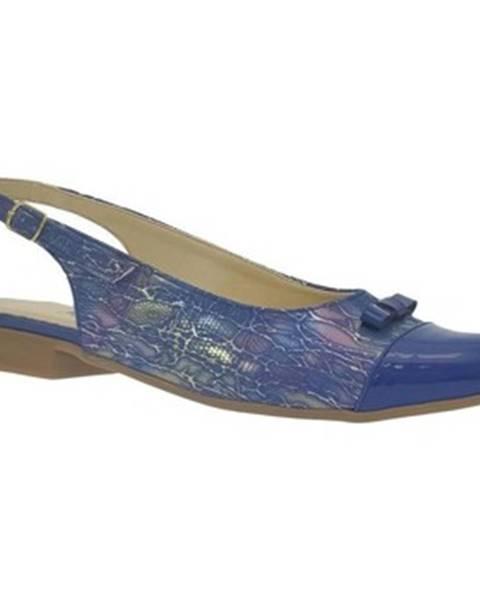 Modré sandále John-C