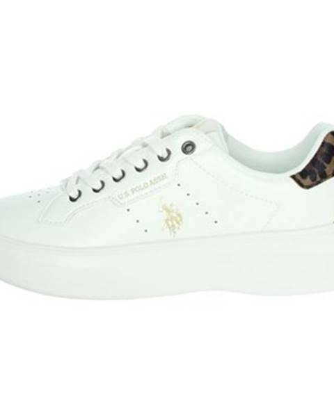 Biele tenisky U.S Polo Assn.
