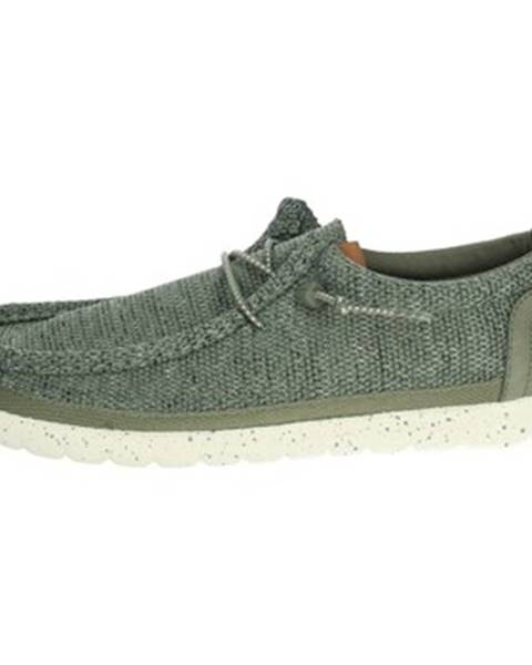 Zelené topánky Wrangler