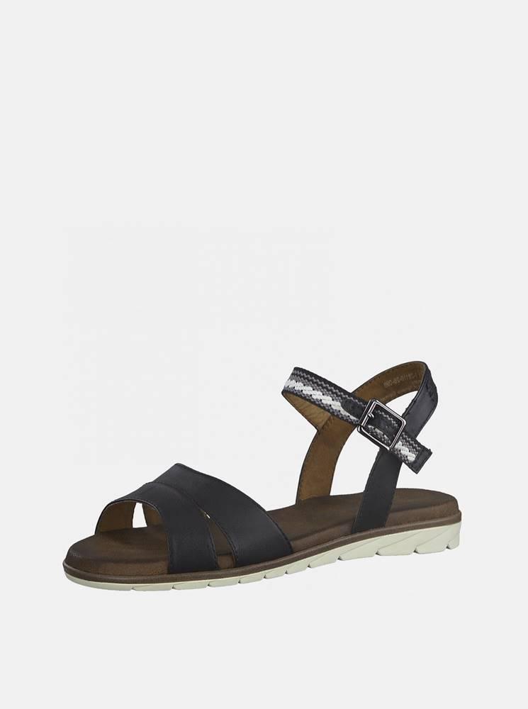 Tamaris Tmavomodré sandále Tamaris