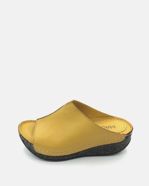 Žlté papuče wild