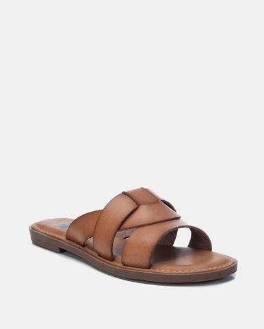 Hnedé papuče Xti