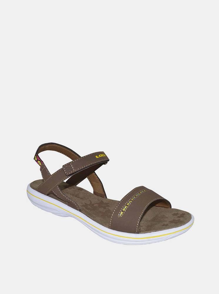 loap Hnedé dámske sandále LOAP