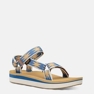 Modré dámske sandále Teva Midform Universal