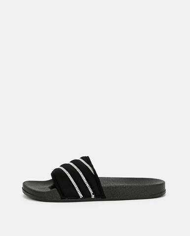 Čierne papuče tally weijl