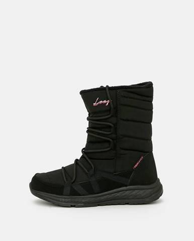 Čierna zimná obuv loap