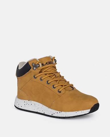 Hnedá zimná obuv loap