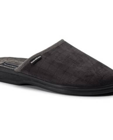 Šedé papuče Home&Relax