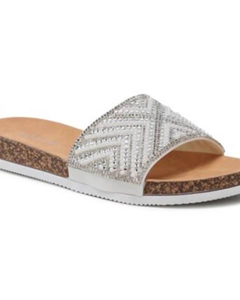 Biele topánky Bassano