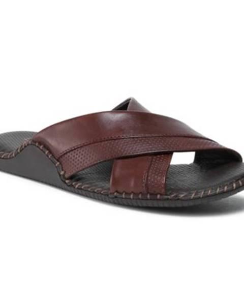Tmavohnedé topánky Lasocki for men