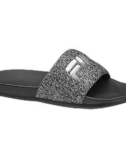 Sivé sandále Fila