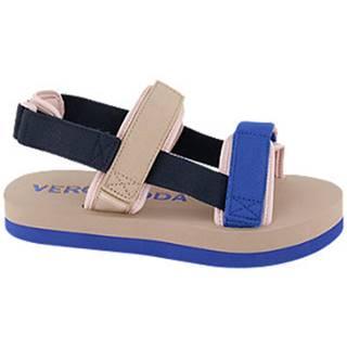 Modro-béžové sandále Vero Moda