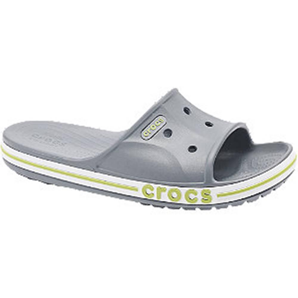 Crocs Sivé šľapky Crocs