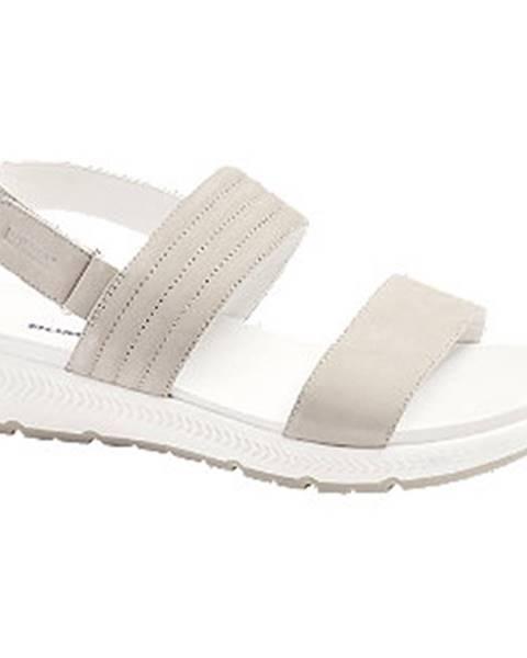 Sivé sandále Romika
