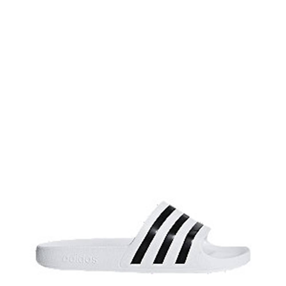 adidas Biele plážové šľapky Adidas Adilette Aqua