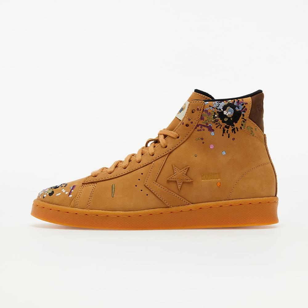 Converse Converse x Bandulu Pro Leather Mid Flux/ Gum Light Honey/ Brown