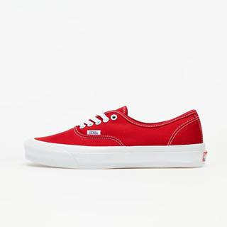 Vans Vault OG Authentic LX (Canvas) Red/ True White