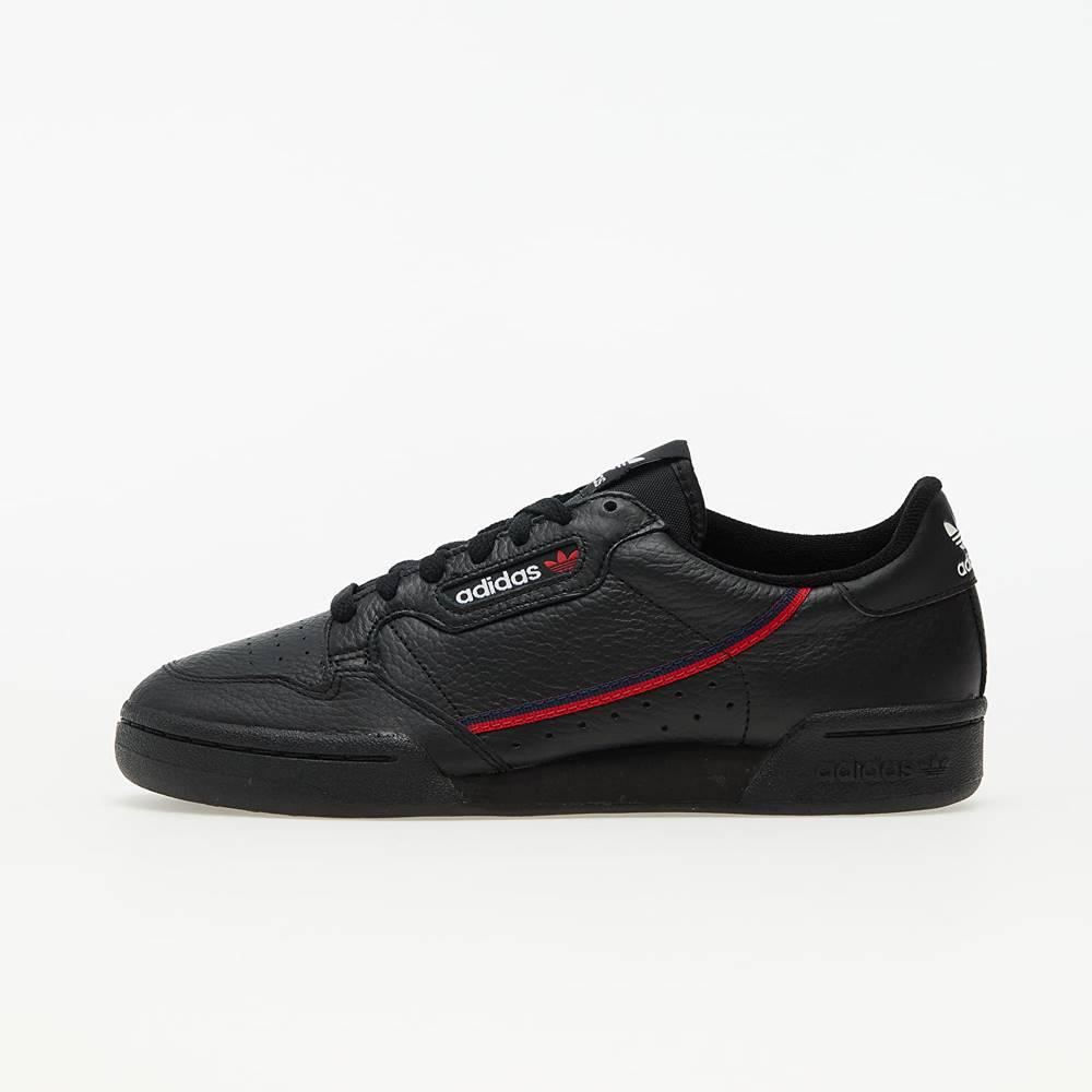 adidas Originals adidas Continental 80 Core Black/ Scarlet/ Collegiate Navy