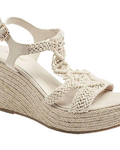 Béžové sandále Graceland